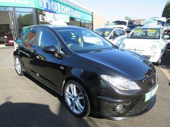 2009 SEAT IBIZA 1.4 BLACK SPORT 5d 85 BHP £3500.00