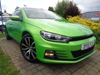 2015 VOLKSWAGEN SCIROCCO 2.0 GT TSI BLUEMOTION TECHNOLOGY 2d 218 BHP