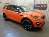 2016 LAND ROVER DISCOVERY SPORT 2.0 TD4 HSE BLACK 5d AUTO 180 BHP £24995.00