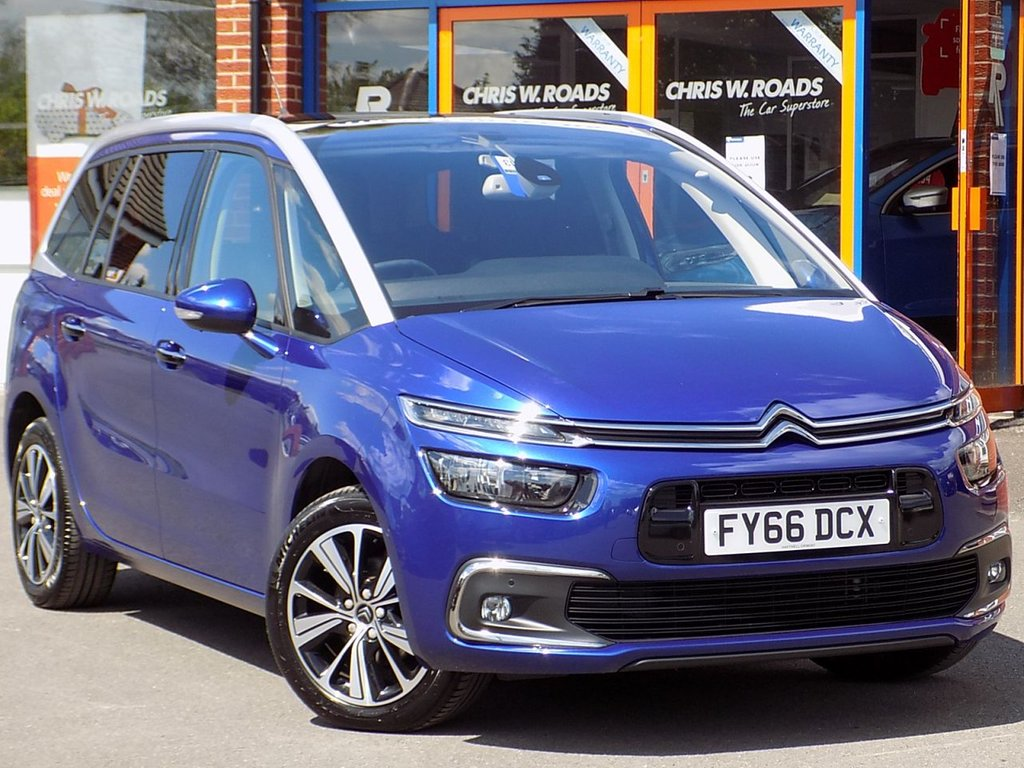 USED 2016 66 CITROEN C4 GRAND PICASSO 1.6 BLUEHDi FLAIR S/S 5dr 7 Seater