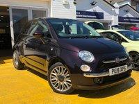 2015 FIAT 500 1.2 LOUNGE 3d 69 BHP £6499.00