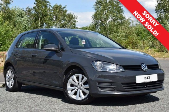 2013 13 VOLKSWAGEN GOLF 1.6 SE TDI BLUEMOTION TECHNOLOGY 5d 103 BHP