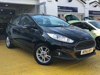 2014 FORD FIESTA 1.6 ZETEC 5d AUTO 104 BHP £8999.00