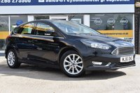 USED 2016 16 FORD FOCUS 1.5 TITANIUM TDCI 5d 118 BHP COMES WITH 6 MONTHS WARRANTY