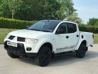 2012 MITSUBISHI L200 2.5 DI-D 4X4 BARBARIAN BLACK LB DCB 1d 175 BHP £SOLD