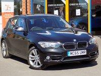 USED 2015 65 BMW 1 SERIES 2.0 118d Sport 5dr (Nav) Step Auto ** Sat Nav + Bluetooth **