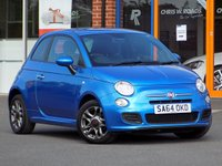 USED 2014 64 FIAT 500 1.2 S 3dr  ** Part Leather + Bluetooth **