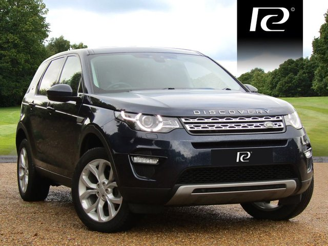 2016 16 LAND ROVER DISCOVERY SPORT 2.0 TD4 HSE 5d AUTO 180 BHP