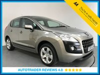USED 2013 13 PEUGEOT 3008 1.6 E-HDI ACTIVE 5d 115 BHP PEUGEOT HISTORY - REAR SENSORS - AIR CON - BLUETOOTH - CRUISE - CD PLAYER - 17' ALLOYS