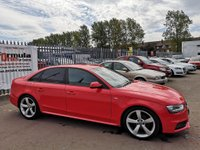 USED 2012 62 AUDI A4 2.0 TDI Black Edition 4dr S LINE+BLACK EDITION+1 OWNER