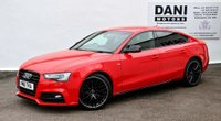 USED 2016 16 AUDI A5 2.0 TDI Black Edition Plus Sportback Multitronic (s/s) 5dr *1 OWNER*SATNAV*PARKING AID*
