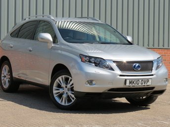 2010 LEXUS RX 3.5 450H SE-L 5d AUTO 249 BHP £SOLD