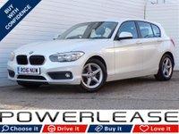 USED 2016 16 BMW 1 SERIES 1.5 116D ED PLUS 5d 114 BHP SAT NAV P/SENSORS CRUISE CONT