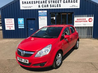 2008 VAUXHALL CORSA 1.2 BREEZE 5d AUTO 80 BHP £SOLD
