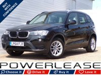 USED 2015 64 BMW X3 2.0 XDRIVE20D SE 5d AUTO 188 BHP MEMORY SEATS NAV REAR CAMERA