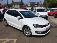USED 2014 63 VOLKSWAGEN POLO 1.2 MATCH EDITION TDI 3d 74 BHP Low mileage diesel with full service history