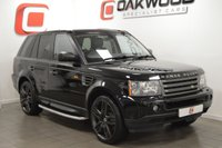 USED 2007 07 LAND ROVER RANGE ROVER SPORT 2.7 TDV6 SPORT HSE 5d AUTO 188 BHP 22 INCH ALLOYS + LOW MILES + SERVICE HISTORY + NAV + LEATHER