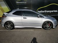 USED 2009 59 HONDA CIVIC 2.0 I-VTEC TYPE-R GT 3d 198 BHP 69,000 MILES No Deposit Finance & Part Ex Available