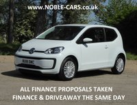 2018 VOLKSWAGEN UP 1.0 MOVE UP BLUEMOTION TECHNOLOGY 3d AUTO 60 BHP £SOLD
