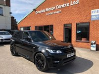 """USED 2016 66 LAND ROVER RANGE ROVER SPORT 3.0 SDV6 AUTOBIOGRAPHY DYNAMIC AUTO 306 BHP Satellite Navigation : Car Hotspot / WiFi : Bluetooth Connectivity : Heated Steering Wheel    Front & Rear Heated Seats    :    Retractable Side Steps    :    Front & Rear Parking Sensors  Rear View Parking Camera : 22"""" Alloy Wheels : Full Land Rover Service History"""