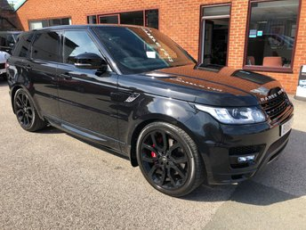 2016 LAND ROVER RANGE ROVER SPORT 3.0 SDV6 AUTOBIOGRAPHY DYNAMIC AUTO 306 BHP £49890.00