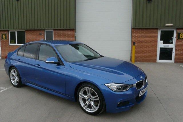 2012 BMW 3 SERIES 2.0 320D M SPORT 4d 181 BHP