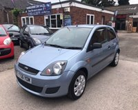 USED 2006 56 FORD FIESTA 1.25 STYLE CLIMATE 16V 3d 78 BHP