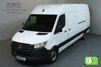 USED 2018 18 MERCEDES-BENZ SPRINTER 2.1 314 CDI 5d 141 BHP LWB HIGH ROOF START STOP ENGINE PARKTRONIC EURO 6 ONE OWNER, PARKTRONIC, REVERSE CAMERA, MANUFACTURER WARRANTY UNTIL 14/08/2021