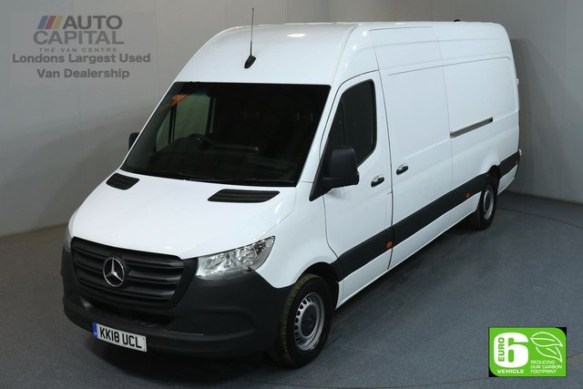2018 18 MERCEDES-BENZ SPRINTER 2.1 314 CDI 5d 141 BHP LWB HIGH ROOF START STOP ENGINE PARKTRONIC EURO 6 ONE OWNER, PARKTRONIC, REVERSE CAMERA, MANUFACTURER WARRANTY UNTIL 14/08/2021