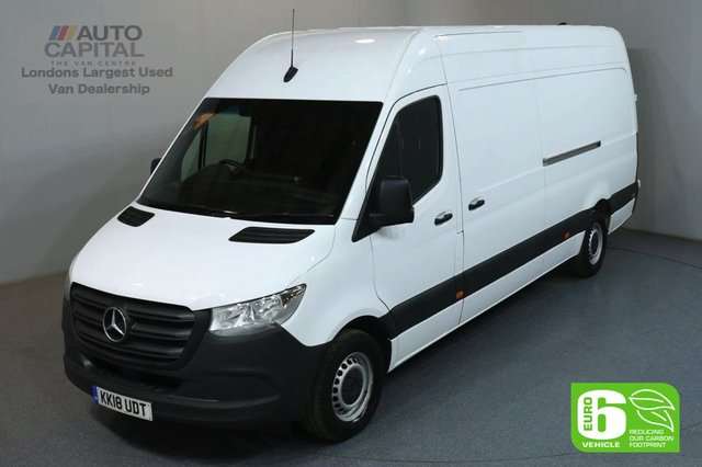 2018 18 MERCEDES-BENZ SPRINTER 2.1 314 CDI 141 BHP LWB H/ROOF EURO 6 MANUAL VAN FRONT AND REAR PARKING SENSORS