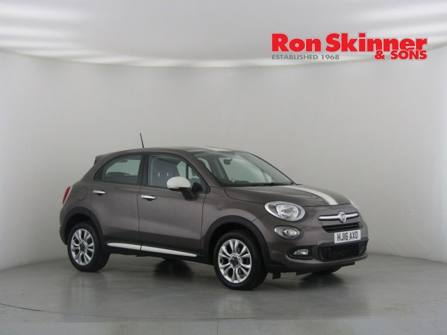 View our 2016 16 FIAT 500X 1.6 MULTIJET POP STAR 5d 120 BHP