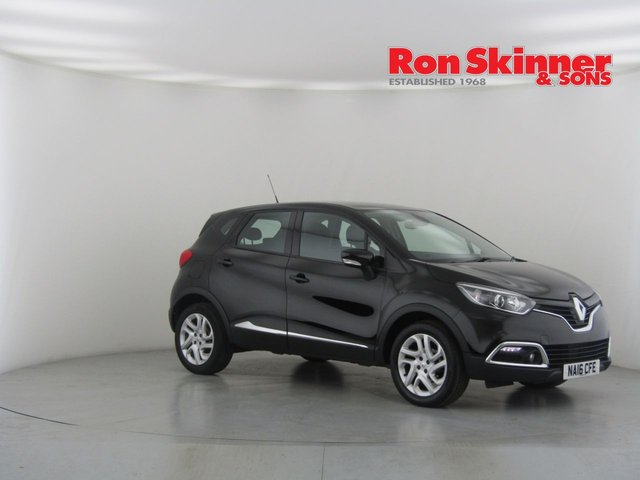 View our 2016 16 RENAULT CAPTUR 0.9 DYNAMIQUE NAV TCE 5d 90 BHP