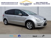 USED 2012 12 FORD S-MAX 2.0 ZETEC TDCI 5d AUTO 138 BHP Full Service History Bluetooth Buy Now, Pay Later Finance!