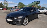 USED 2013 63 BMW 3 SERIES 2.0 320D XDRIVE M SPORT TOURING 5d AUTO 181 BHP ESTATE