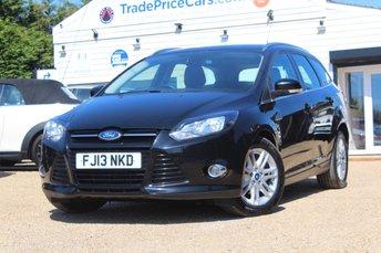 2013 FORD FOCUS 1.6 TITANIUM 5d AUTO 124 BHP £6950.00