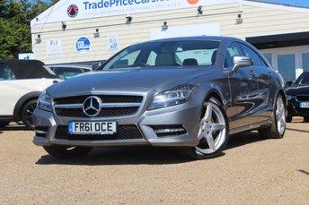 2011 MERCEDES-BENZ CLS 3.0 CLS350 CDI SPORT AMG 4d AUTO 265 BHP £13950.00