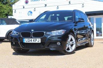 2014 BMW 3 SERIES 2.0 320D XDRIVE M SPORT TOURING 5d AUTO 181 BHP £14995.00