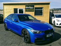 2014 BMW 3 SERIES 2.0 320D M SPORT 4d AUTO 181 BHP £15750.00