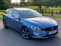 USED 2015 15 VOLVO V60 2.0 D4 R-DESIGN 5d 178 BHP FULL DEALER SERVICE HISTORY, HEATED SEATS, CLIMATE CONTROL, BLUETOOTH, CRUISE CONTROL,