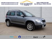 USED 2012 12 SKODA YETI 2.0 ELEGANCE TDI CR 5d 138 BHP Full Service History + Leather Buy Now, Pay Later Finance!