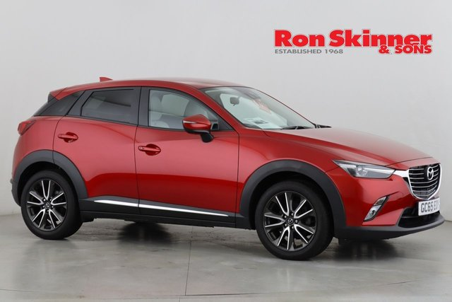 View our 2016 65 MAZDA CX-3 2.0 SPORT NAV 5d 118 BHP