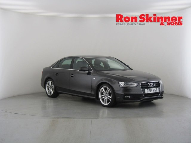 View our 2014 14 AUDI A4 2.0 TDI S LINE 4d 174 BHP