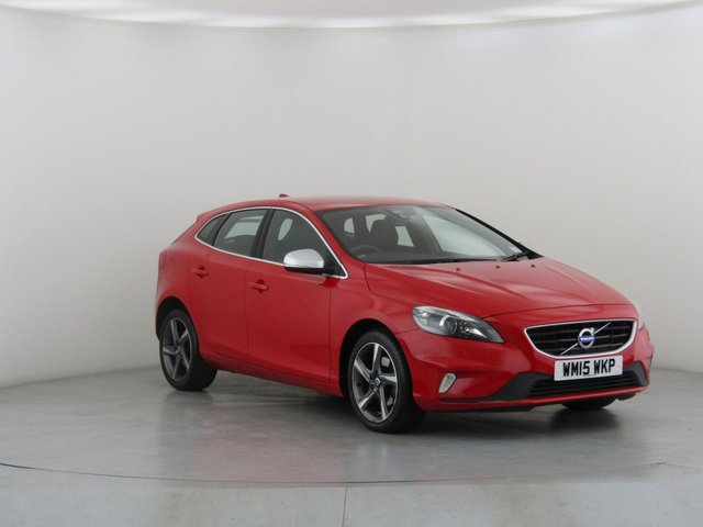 View our 2015 15 VOLVO V40 2.0 D2 R-DESIGN LUX NAV 5d 118 BHP