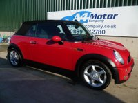 USED 2005 05 MINI CONVERTIBLE 1.6 One 2dr £0 DEPOSIT FINANCE AVAILABLE!