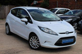 2012 FORD FIESTA 1.2 EDGE 3d 59 BHP £4795.00