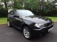 2007 BMW X3 2.0 D M SPORT 5d 148 BHP £3295.00