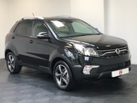 USED 2019 19 SSANGYONG KORANDO 2.2 ULTIMATE AUTOMATIC EX DEMO + LESS THAN 500 MILES + TOP OF THE RANGE