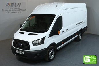 2018 FORD TRANSIT 2.0 350 L4 H3 130 BHP JUMBO EXTRA LWB H/ROOF EURO 6 £13990.00