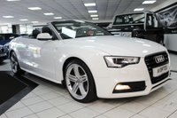 2012 AUDI A5 CABRIOLET 2.0 TDI S LINE S/S 177 BHP £12425.00