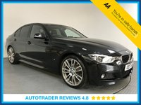 USED 2017 17 BMW 3 SERIES 2.0 330E M SPORT 4d AUTO 181 BHP FULL BMW HISTORY - 1 OWNER - HYBRID - SAT NAV - LEATHER - PARKING SENSORS - AIR CON - BLUETOOTH